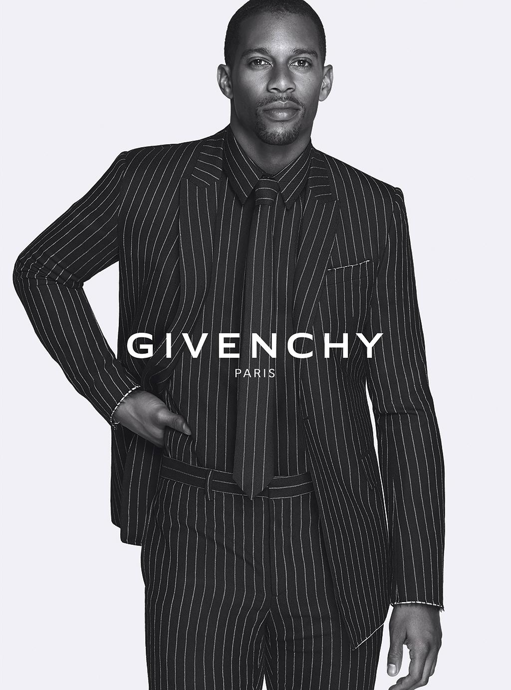 Givenchy-Fall-Winter-2015-Campaign-Victor-Cruz