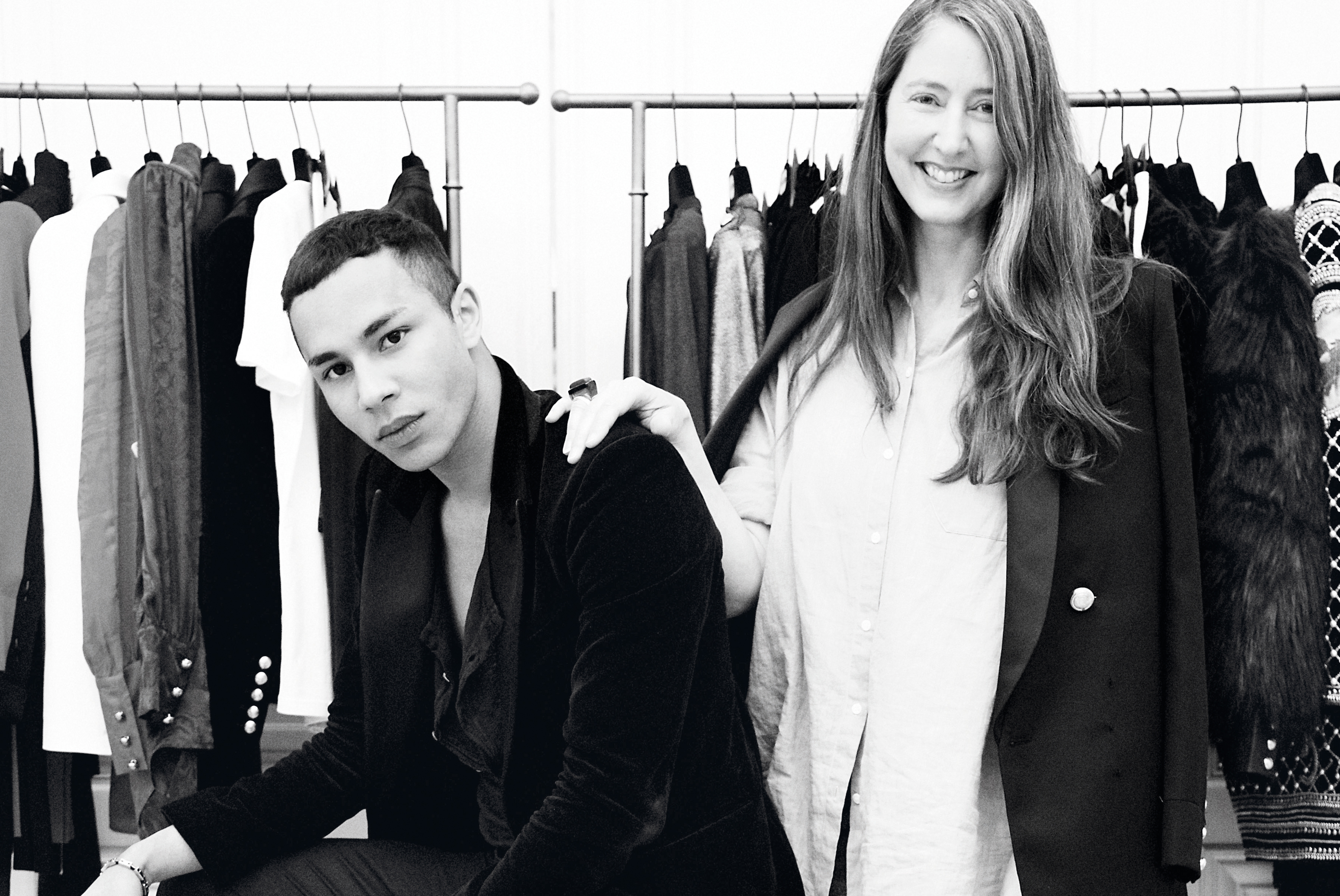 Exclusive Interview with Olivier Rousteing & Ann-Sofie Johansson