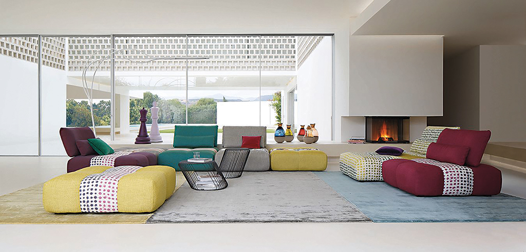 Living: Parcours Corner Composition Sofas From Roche Bobois | DA MAN  Magazine