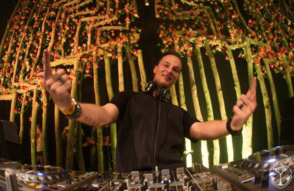 DJ Yves V at Tomorrowland 2015 in Belgium
