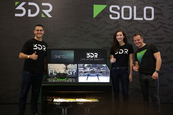 3DR SOLO DRONE LAUNCH IN JAKARTA