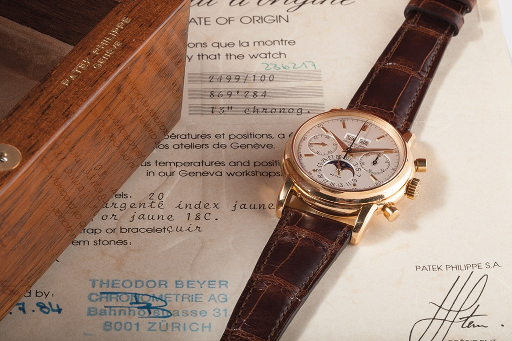 Patek Philippe Perpetual Calendar Chronograph with Moon-Phases, Ref. 86928