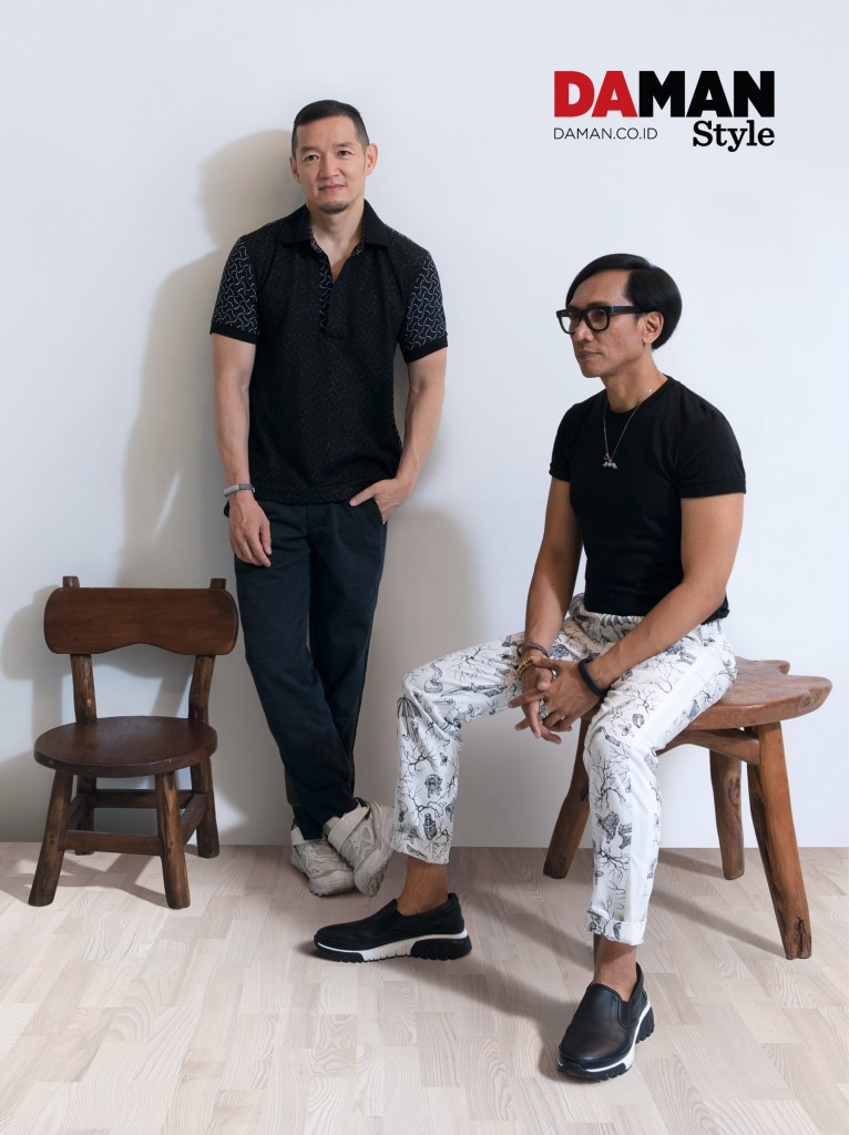 Populo Batik's Joe Lim and Ba'i Soemarlono