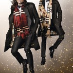 James Bay and Romeo Beckham in the Burberry Festive Campaign shot by Mario Testino