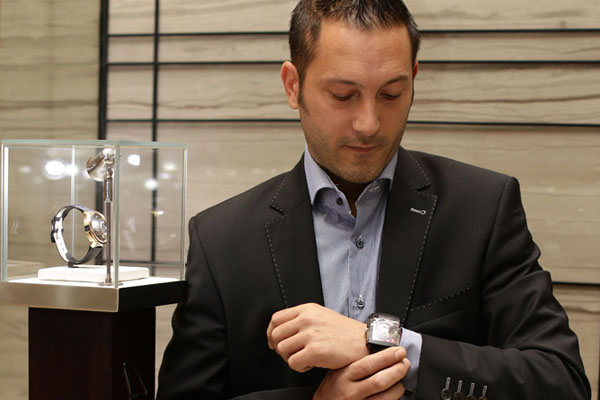 Joachim Besomi of Hautlence Watch