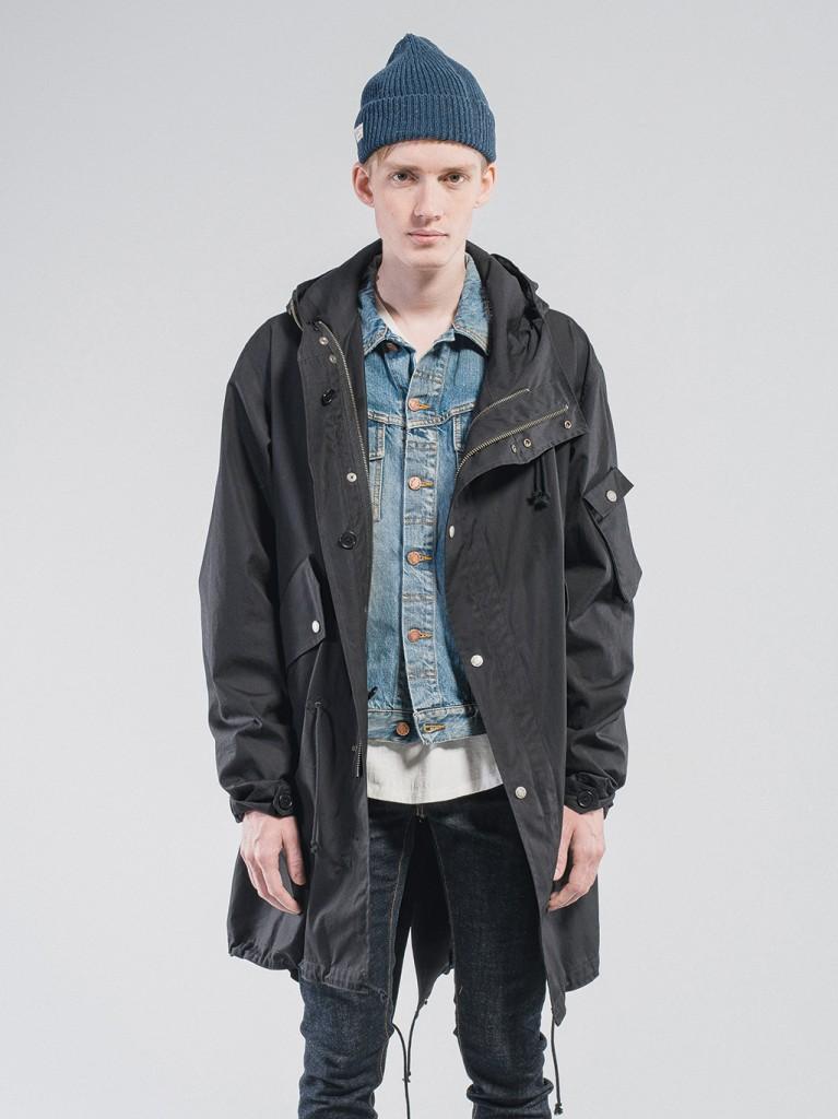 Karl Parka Black Nudie Jeans Fall 2015