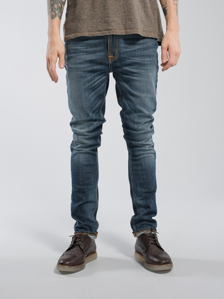 Pipe Led Navy Night Nudie Jeans Fall 2015