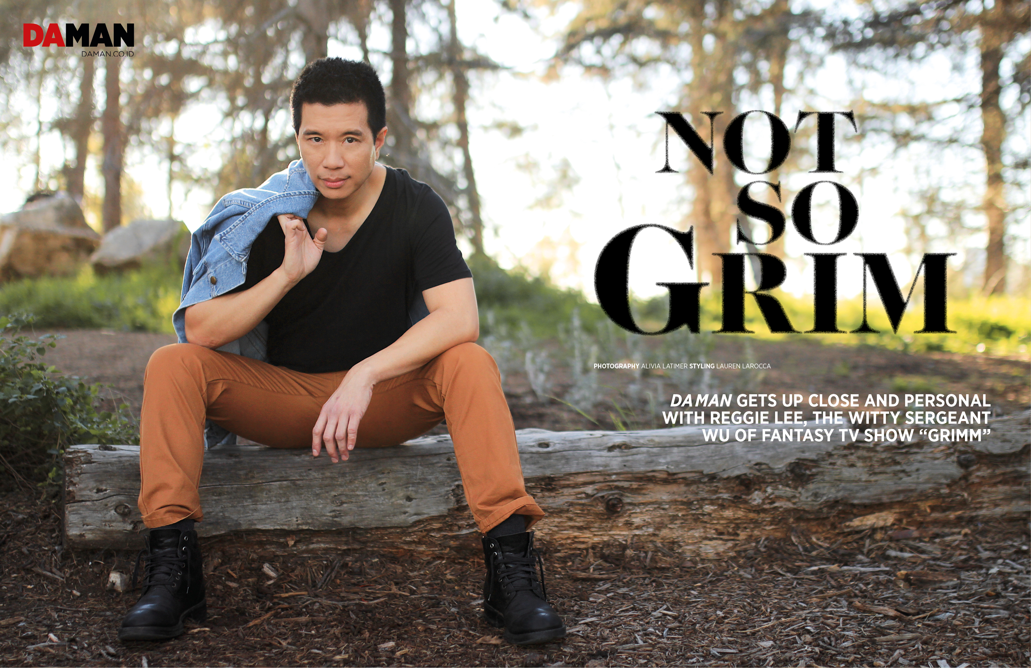 02_FEATURE_ONLINE_Reggie Lee of Grimm NBC in American Apparel, H&M, Urban Outfitters and Frye_DPS_
