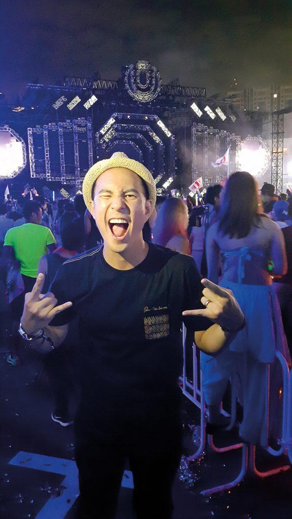 Daniel Mananta TAG Heuer Ultra Japan David Guetta