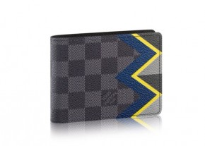LOUIS VUITTON Damier Graphite Kakakoram LEATHER WALLET