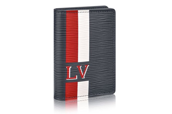 LOUIS VUITTON EPI STRIPES LEATHER POCKET ORGANIZER