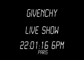 Live Stream Image givenchy fall winter 2016 pfw