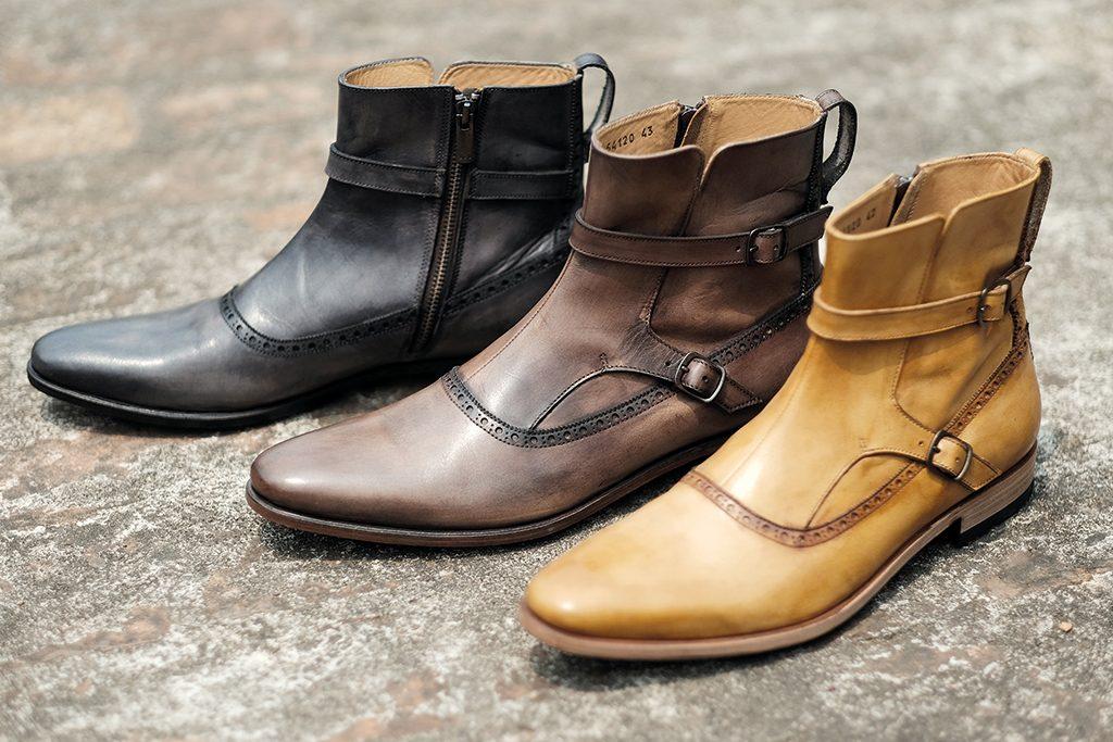 Mario Minardi Hand Painted Leather Shoes Patina