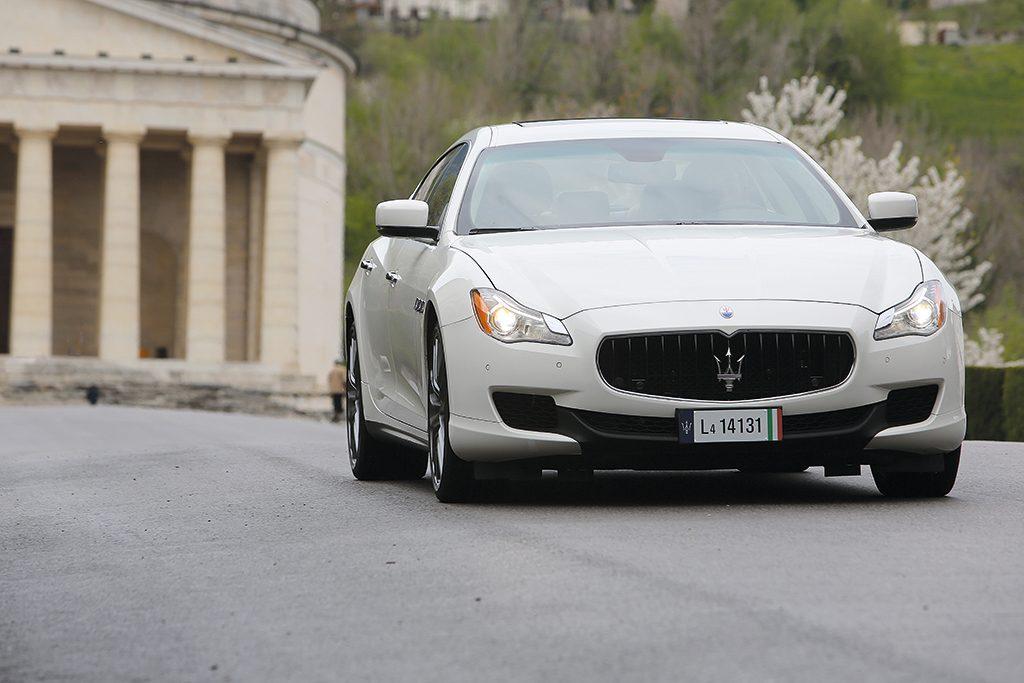 Maserati Quattroporte S DA MAN-1