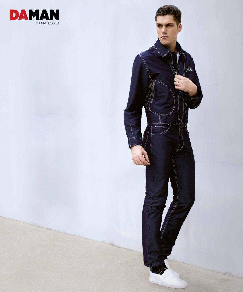Louis Vuitton SS 2016 Denim on Denim
