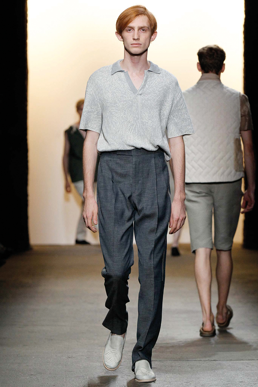 Spring/Summer 2016 Runway Trend: Oversize Polo Shirts