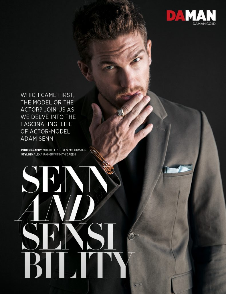 FEATURE_Adam Senn Outfit by Calvin Klein Collection pocket square by Issey Miyake Men