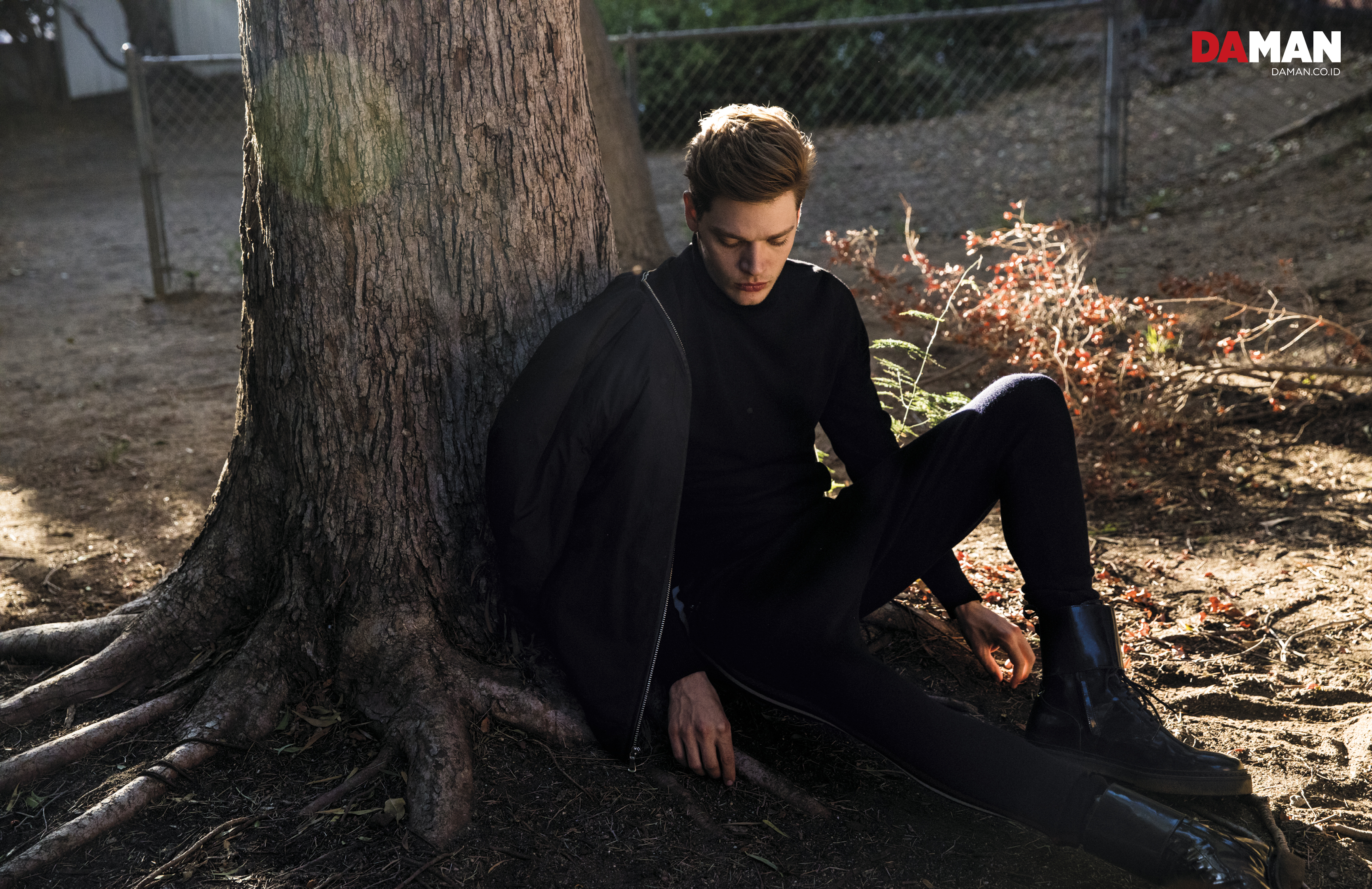 FEATURE_Dominic Sherwood of Shadowhunters in INC International Concepts, Reiss, Balmain x H&M