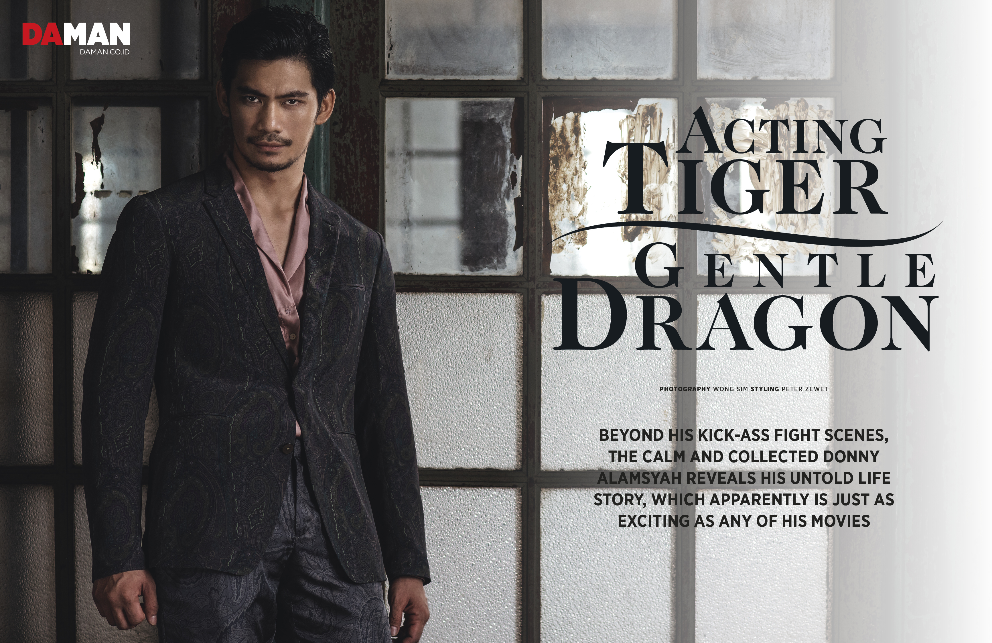 FEATURE_Donny Alamsyah The Raid in Outfit by Etro