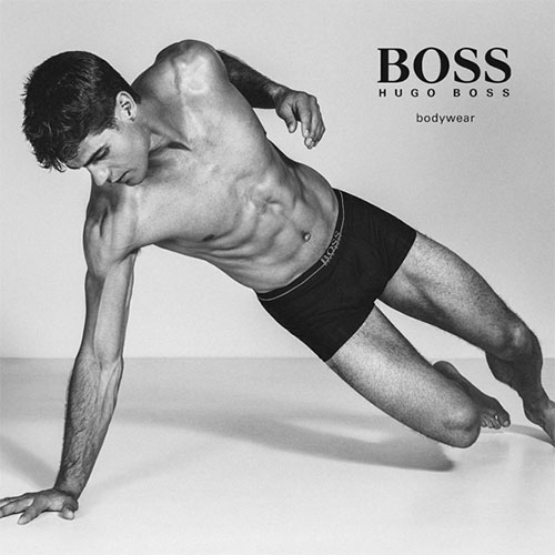chad white for boss by hugo boss