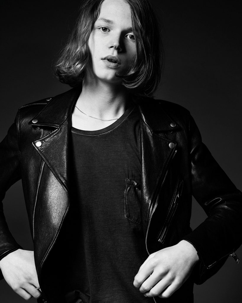 jack kilmer for saint laurent