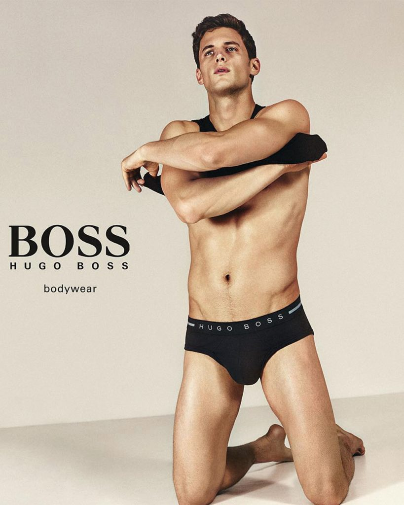 garrett neff for boss by hugo boss