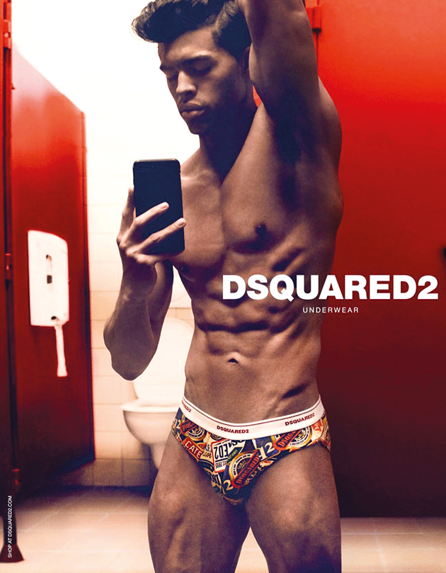 Dsquared2 Underwear Fall Winter 2019 Mens Campaign
