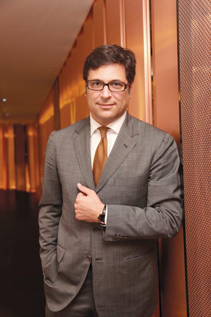 Guido Terreni of Bulgari Watches