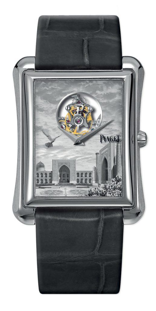 Piaget Emperador Tourbillon XL Miniature Enamel Samarkand