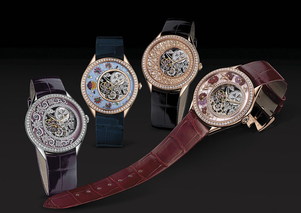 Vacheron Constantin Fabuleux Ornements Indian Manuscript watches, with enameling by Anita Porchet