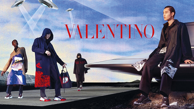 Valentino Fall Winter 2019 Mens Campaign