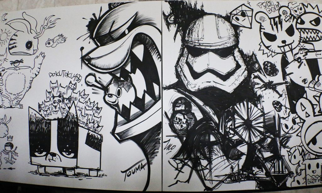 tokidoki art star wars-2