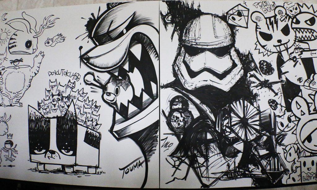 tokidoki art star wars-2