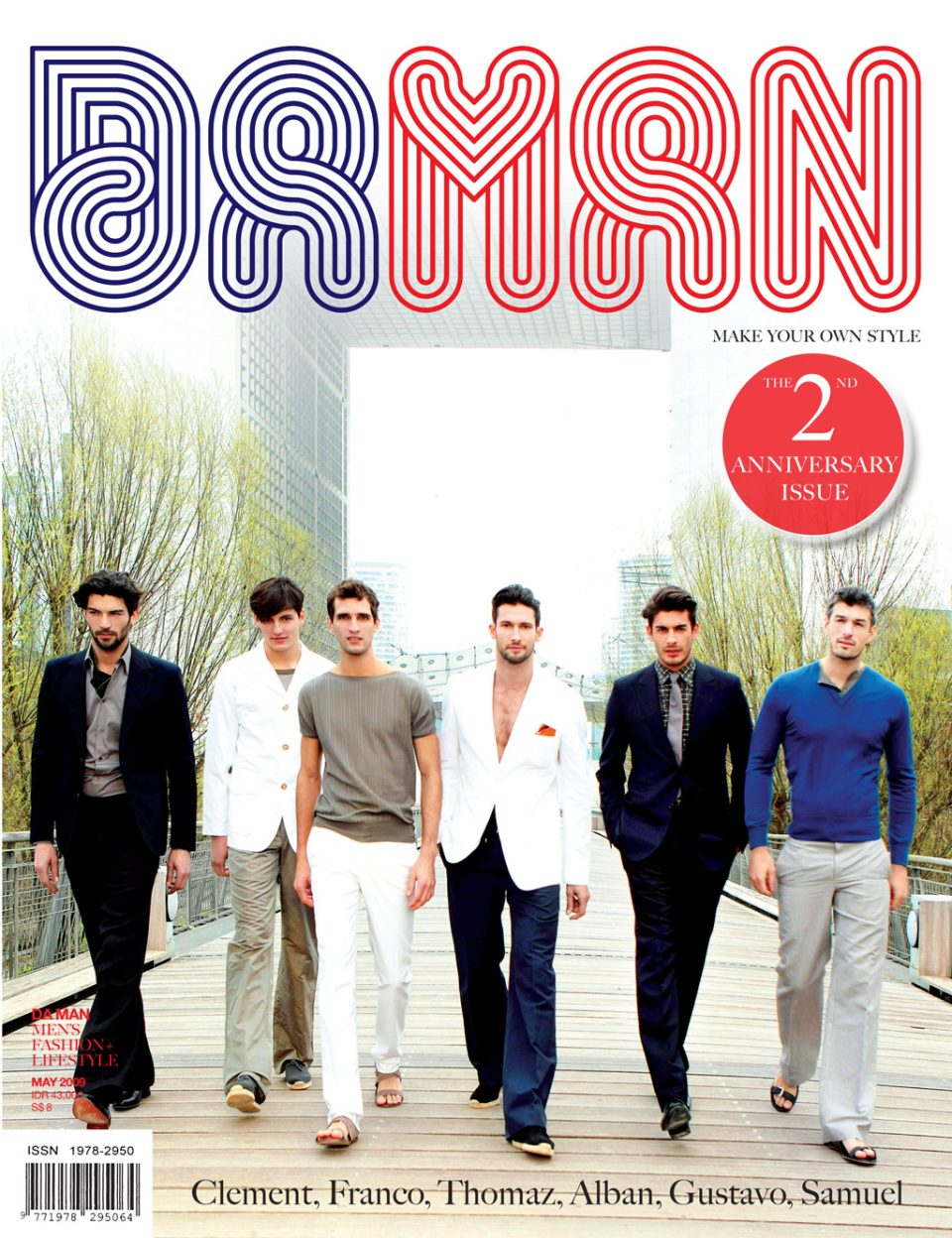 Cover DA MAN May 2009