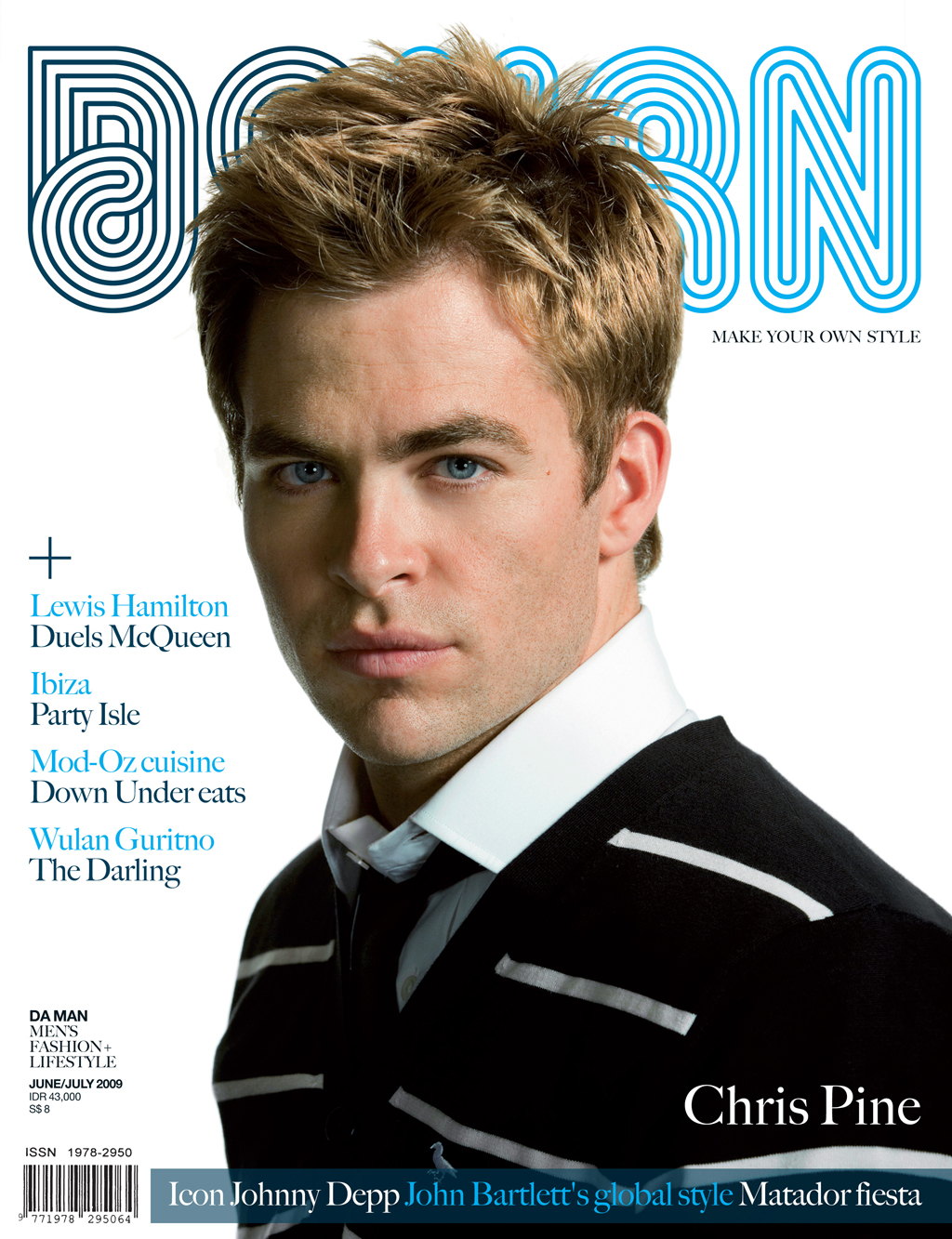 Cover DA MAN Jun/Jul 2009