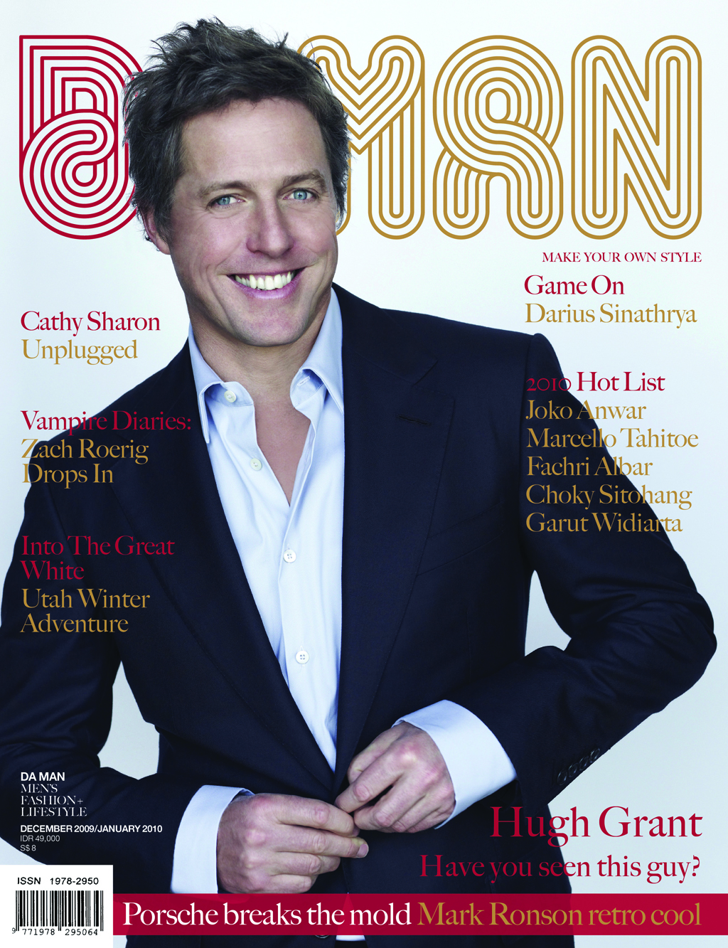 Cover DA MAN Dec/Jan 2010