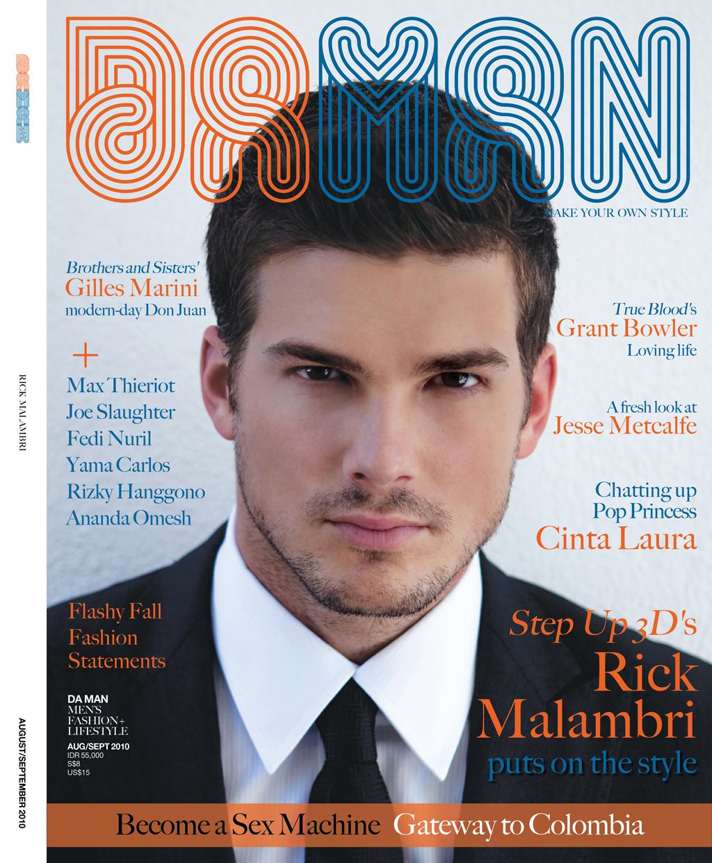Cover DA MAN Aug/Sep 2010