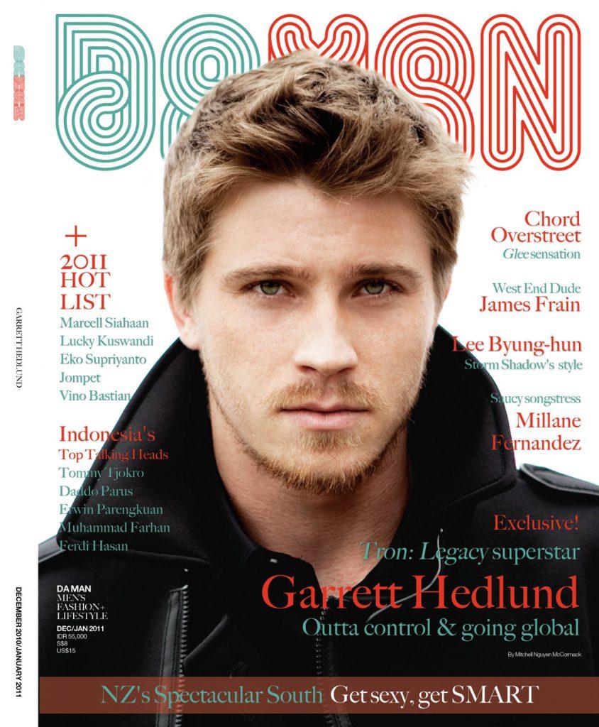 Cover DA MAN Dec 2010/Jan 2011