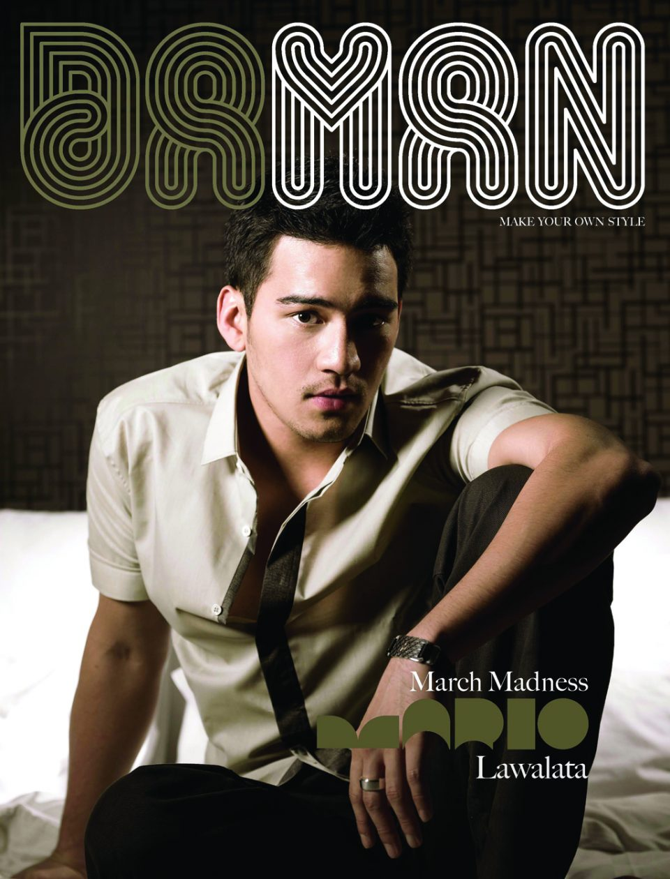 Cover DA MAN Mar 2008