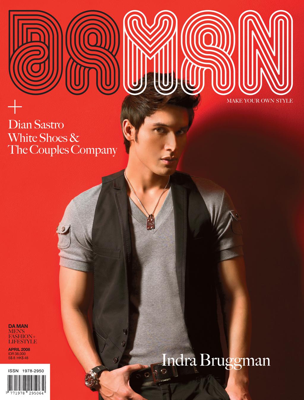Cover DA MAN Apr 2008
