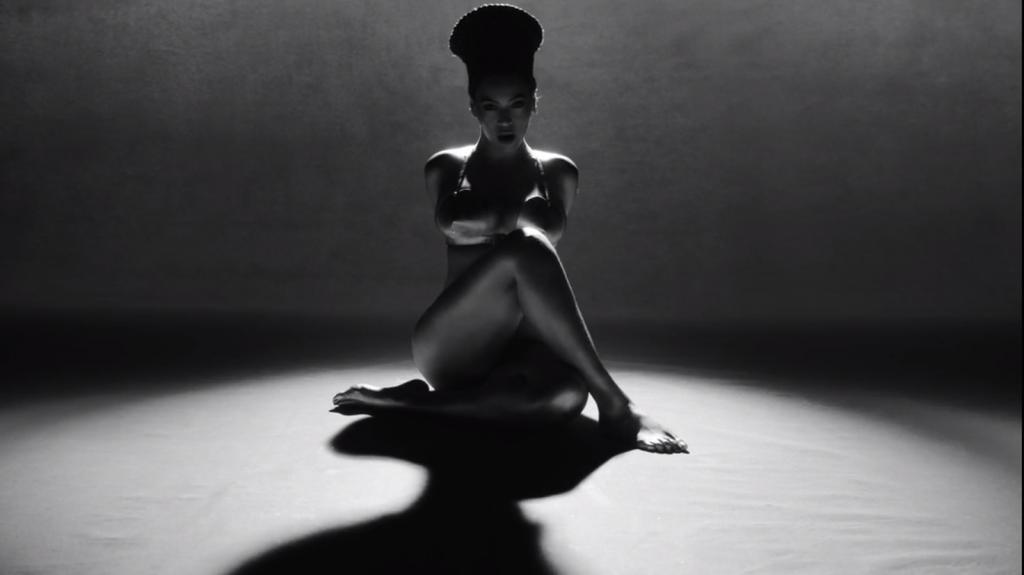 Beyonce Lemonade Leather bra by Zana Bayne