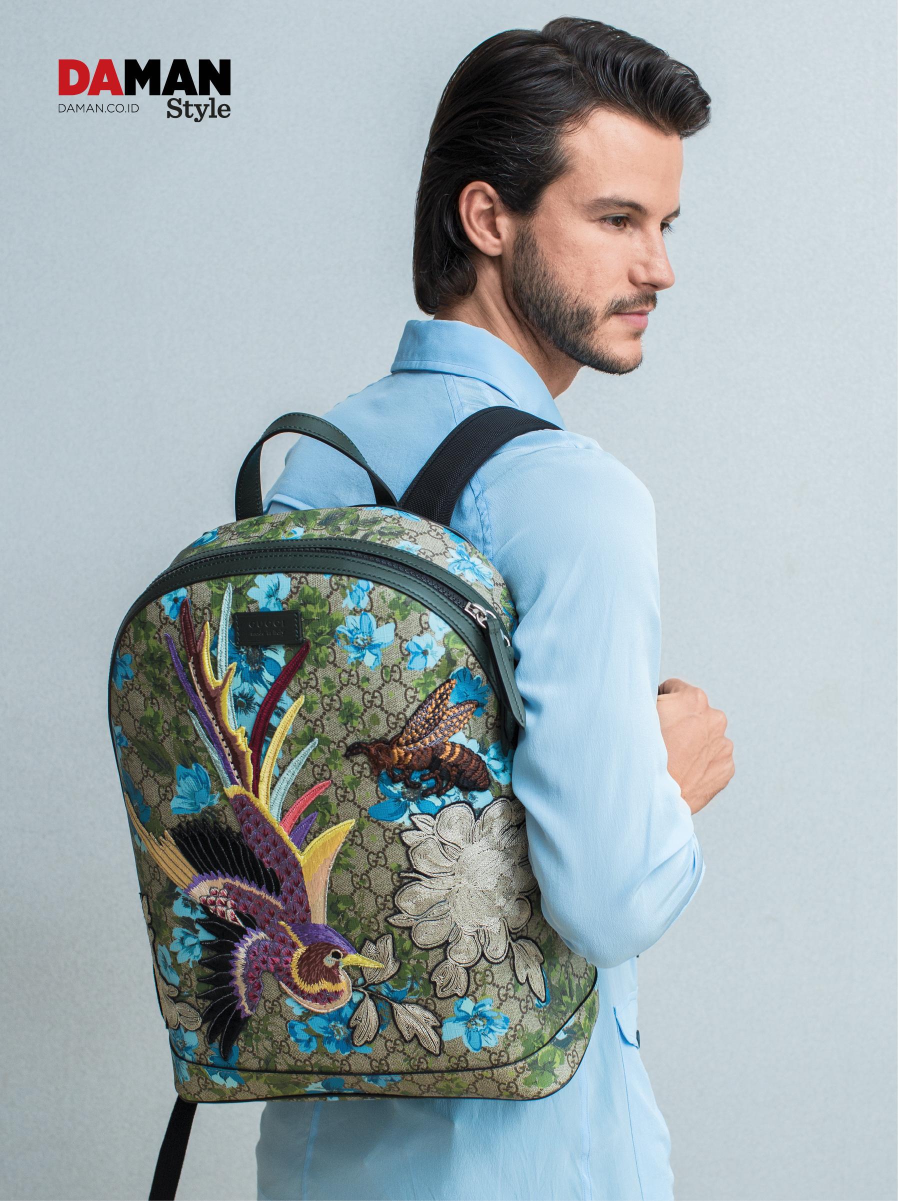 035a2923ac9a Spring Summer 2016 Essentials  Gucci XL GG Backpack
