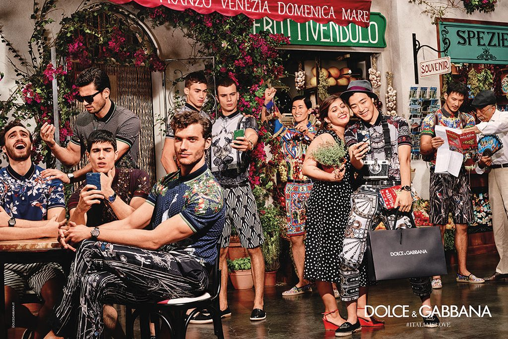 DOLCE AND GABBANA SPRING SUMMER 2016 AD CAMPAIGN