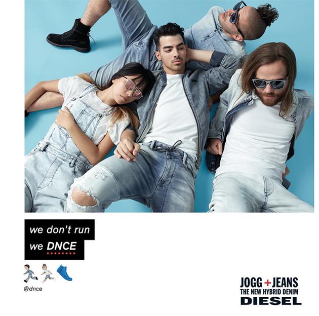 Diesel Spring:Summer 2016 DNCE Joe Jonas