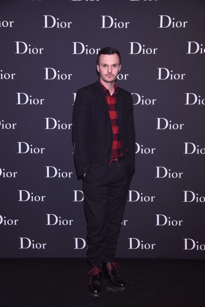 Dior Homme designer Kris Van Assche in Hong Kong