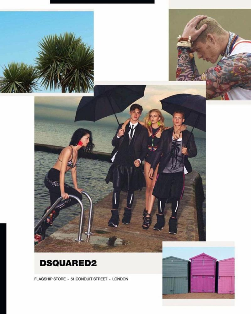 Dsquared2 Spring Summer 2016 Ad Campaign