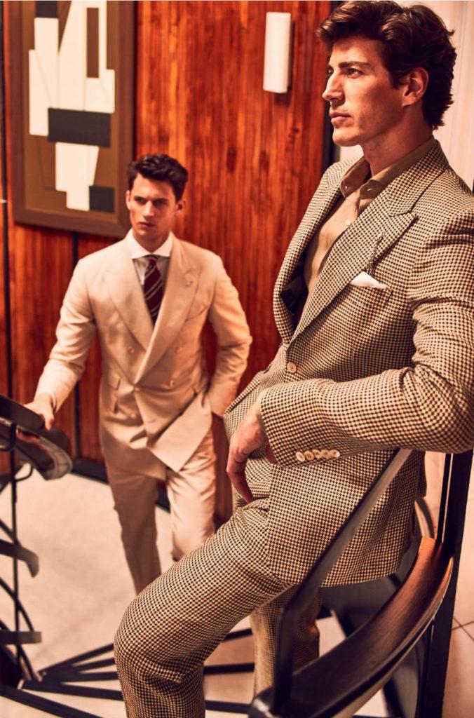Garrett Neff for Massimo Dutti Personal Tailoring SS16-2