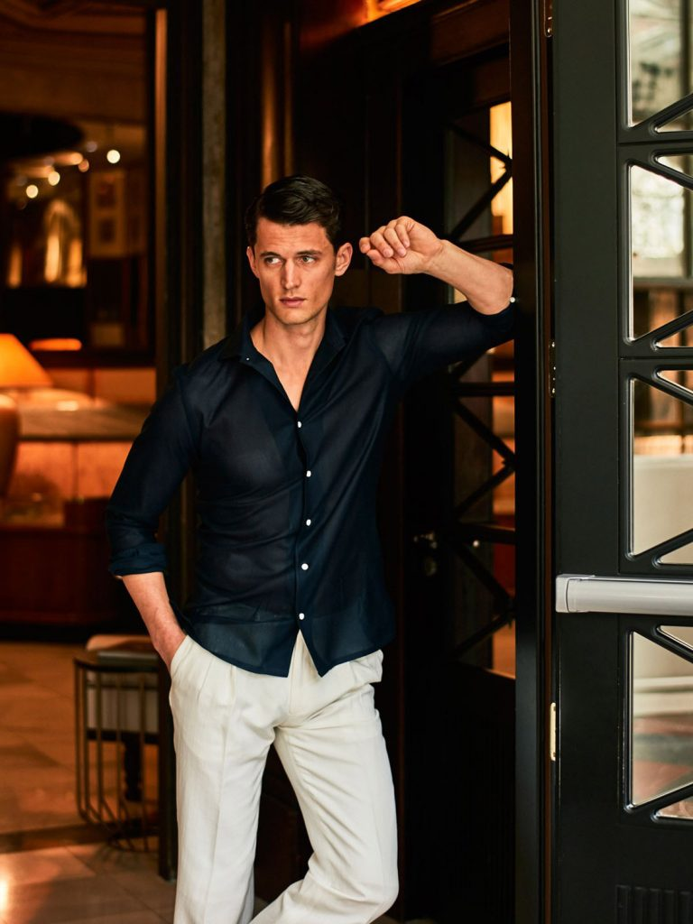 Garrett Neff for Massimo Dutti Personal Tailoring SS16-3