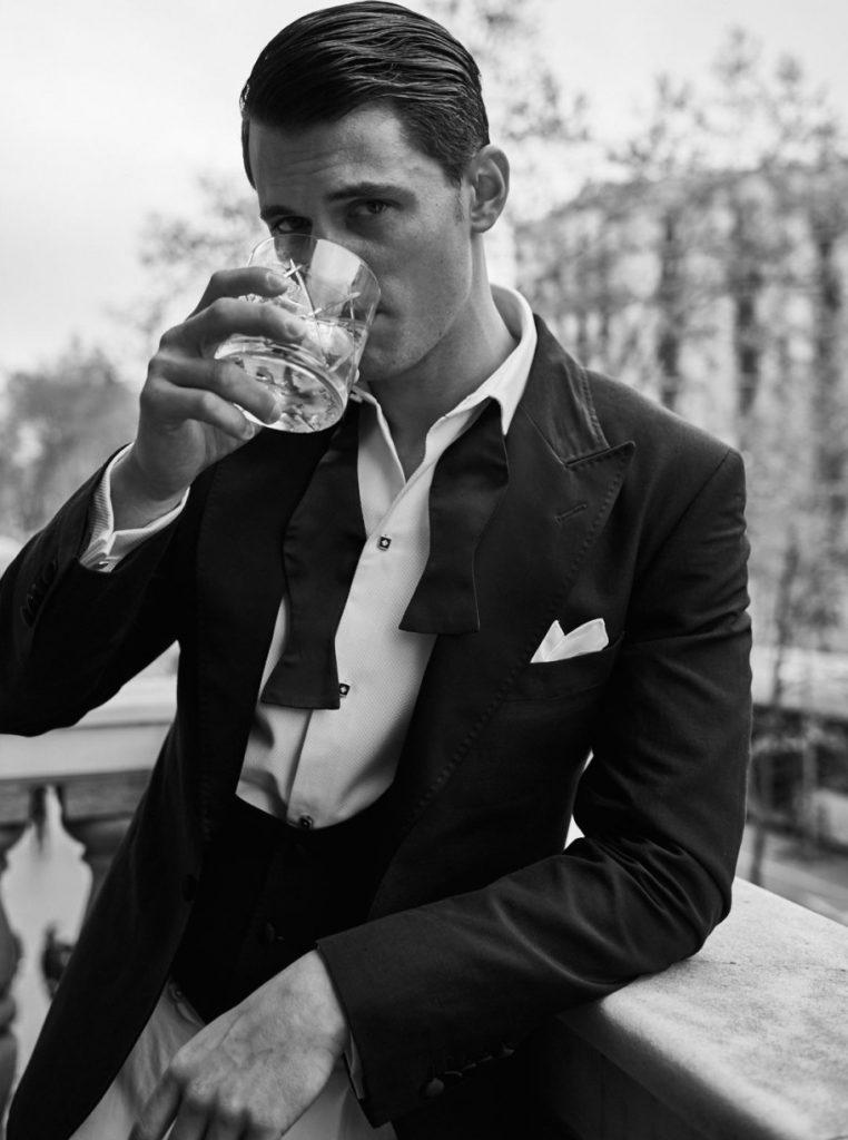 Garrett Neff for Massimo Dutti Personal Tailoring SS16