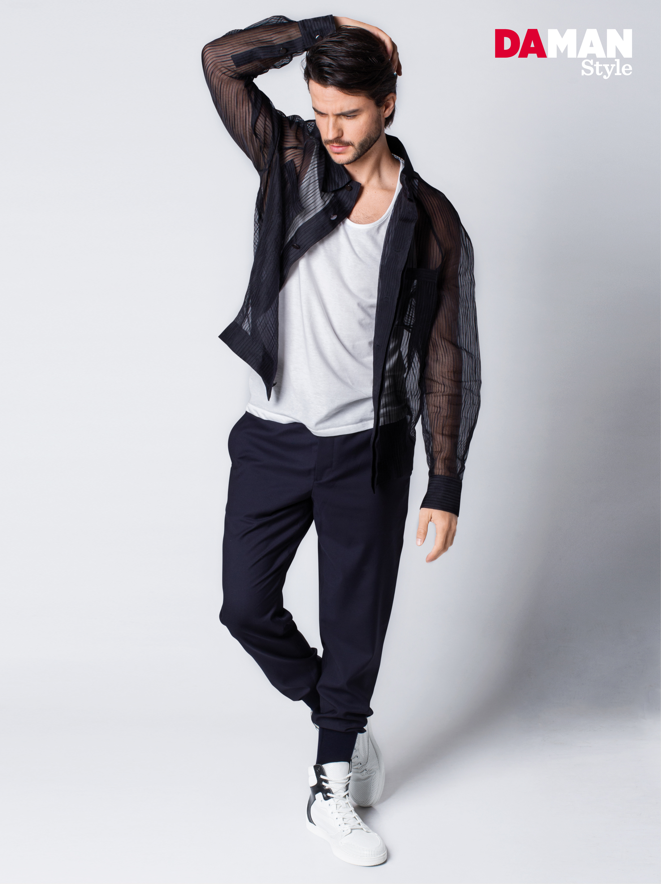 96ebe8605f07a7 3 Ways to Wear Sheer Tops for Men